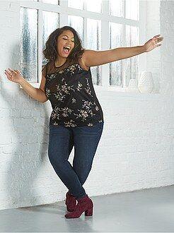 Taglie forti donna Jeans skinny push up
