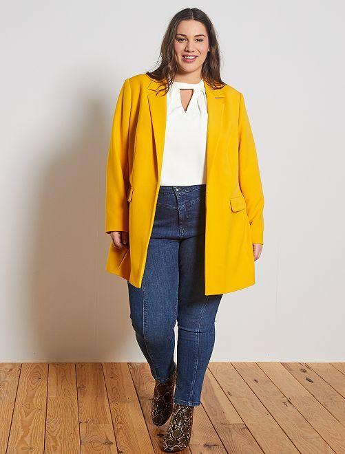 Jeans skinny stile vintage                             BLU