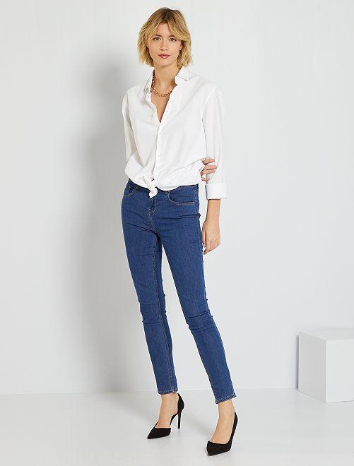 Jeans skinny                                                                                         stone