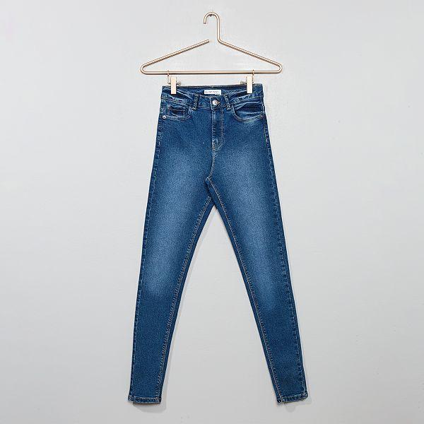 nuovo di zecca 1f25a 091a2 Jeans skinny vita alta Ragazza - BLU - Kiabi - 10,00€