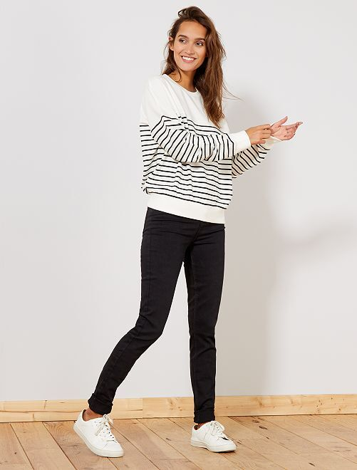 Jeans skinny vita alta                                                                             NERO Donna