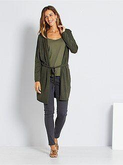 Donna dalla 38 alla 52 - Jeans skinny vita molto alta - Lunghezza US30 - Kiabi