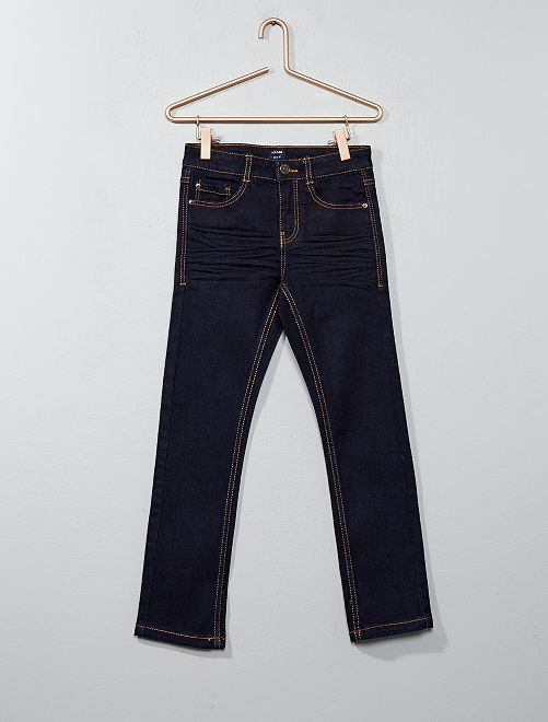Jeans slim                                                                             blu