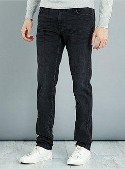 Jeans slim - Jeans slim cotone stretch L36 + 1 m 90 - Kiabi