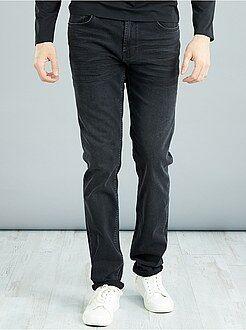 Jeans slim - Jeans slim cotone stretch L38 + 1 m 90 - Kiabi