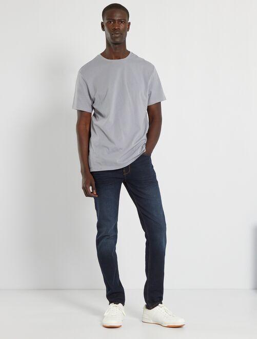 Jeans slim eco-sostenibile L32                                                                                         blu indaco