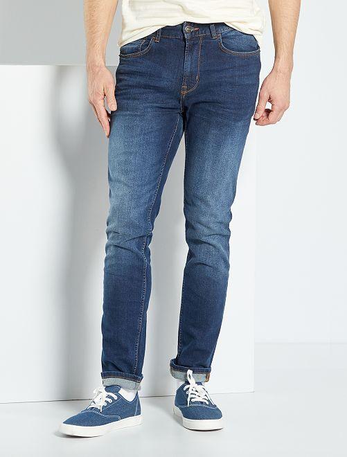 Jeans slim eco-sostenibile L32                                                         brut