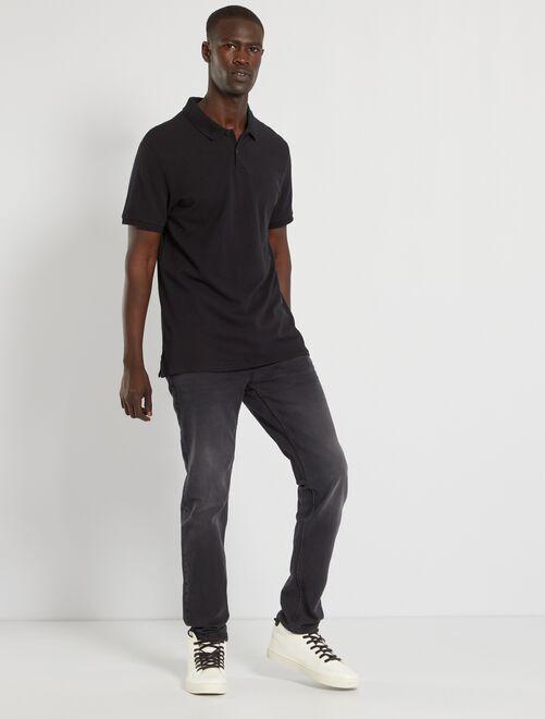 Jeans slim eco-sostenibile L32                                                                             grigio scuro