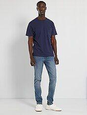 Jeans slim eco-sostenibile L32