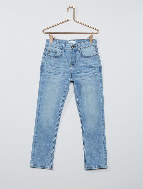 Jeans slim eco-sostenibili Bambino di corporatura robusta                                         BLU