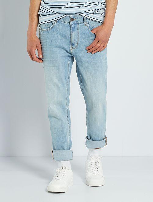 Jeans slim eco-sostenibili L34                                                                                         BLU