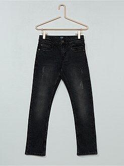 Jeans - Jeans slim effetto delavé - Kiabi