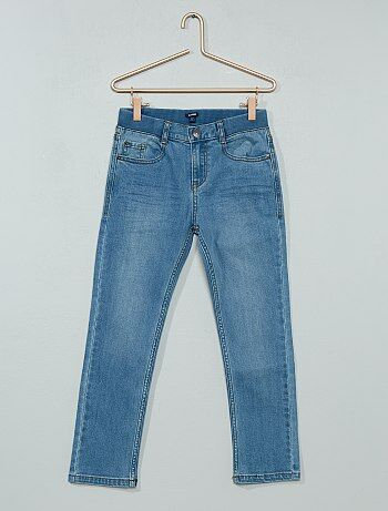 Jeans slim effetto plissettato - Kiabi