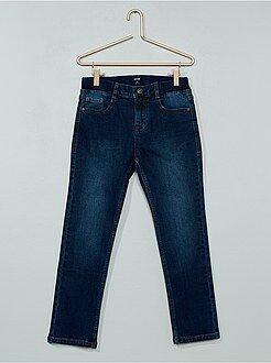 Jeans - Jeans slim effetto plissettato - Kiabi