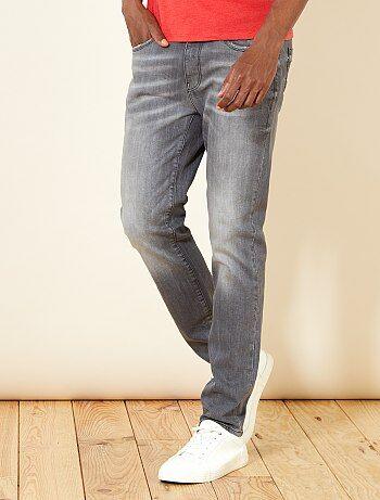 Jeans slim grigi - Kiabi