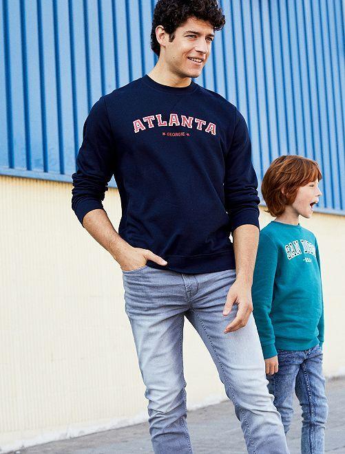 Jeans slim grigi                             GRIGIO