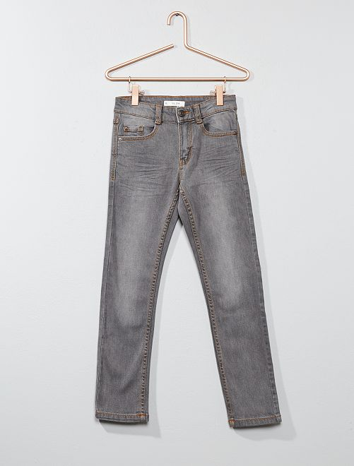 Jeans slim infanzia bambino grigio kiabi 9 00 for Raumgestaltung jean grigo