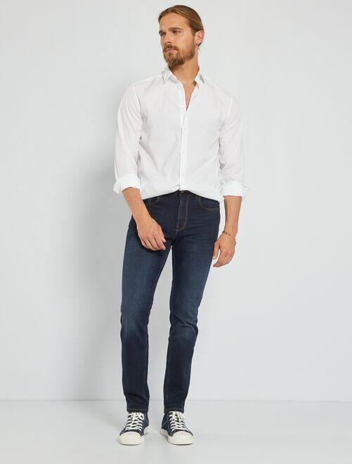 Jeans slim L30                                                                             blu indaco