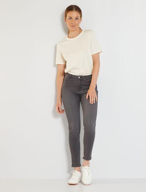 Jeans slim L32 eco-sostenibili                                                                                         GRIGIO