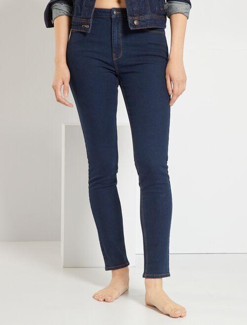 Jeans slim L34 eco-sostenibili                                                                                         BLU