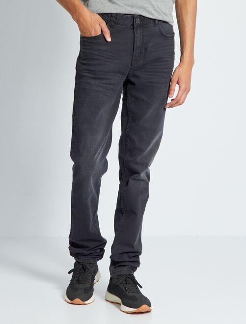 Jeans slim L38 + 1 m 90                                                         GRIGIO