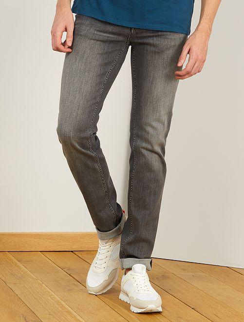 Jeans slim L38 + 1 m 95                             GRIGIO