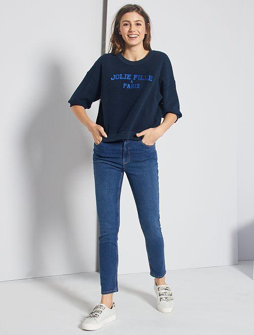 Jeans slim lunghezza US 28                                                     BLU