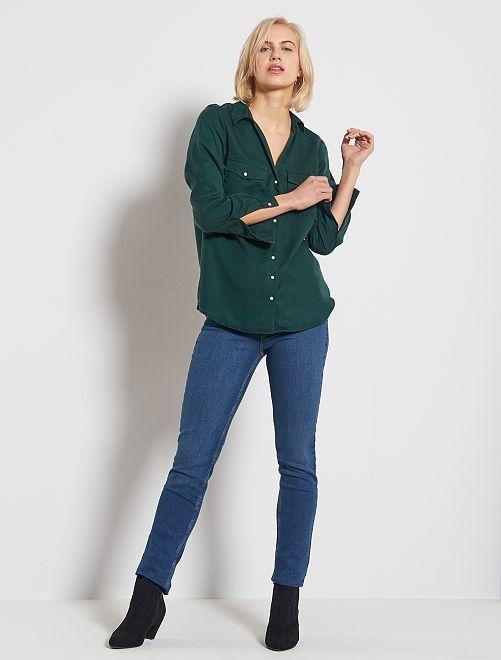 Jeans slim lunghezza US34                                                     BLU