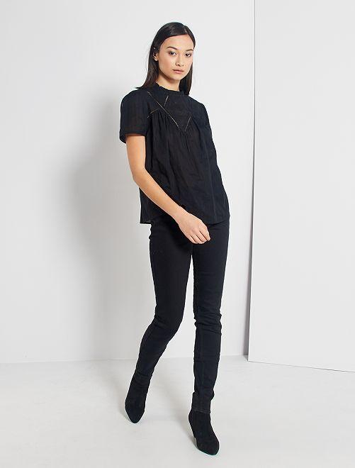Jeans slim lunghezza US34                                                     NERO