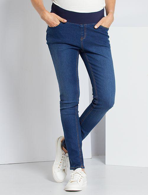 Jeans slim premaman                                                     BLU