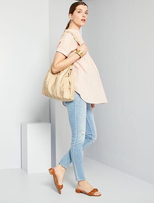 Jeans slim premaman L30                                                                 BLU