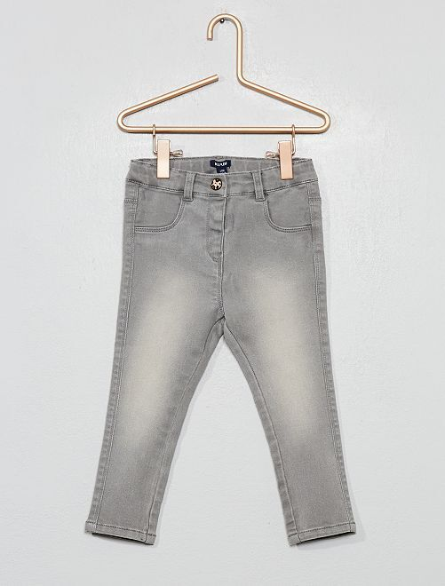 Jeans slim stretch                             GRIGIO