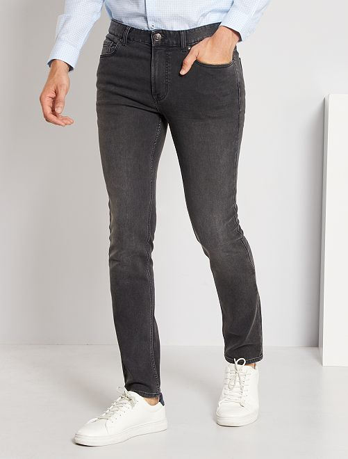 Jeans slim stretch                                                                                         GRIGIO