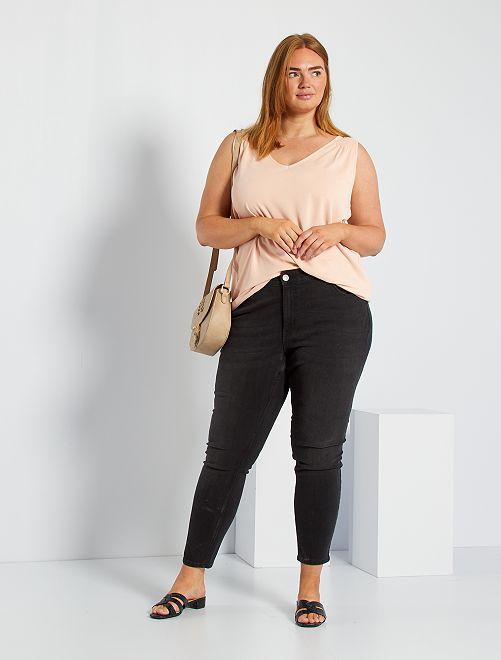 Jeans slim stretch                                                                             NERO