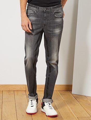 96e8c28d14 Jeans slim strisce stampate - Kiabi