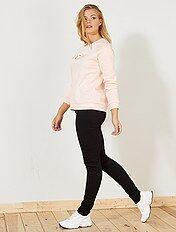 Jeans slim vita alta