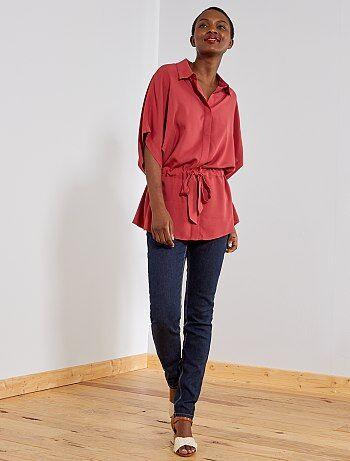 Jeans slim vita molto alta - Lunghezza US 30 - Kiabi