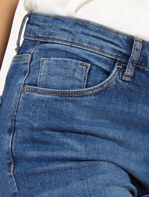 43ed5888e56b Slim Jeans Molto Lunghezza Grigio Us Donna 30 Vita Scuro Alta mwN08vynO