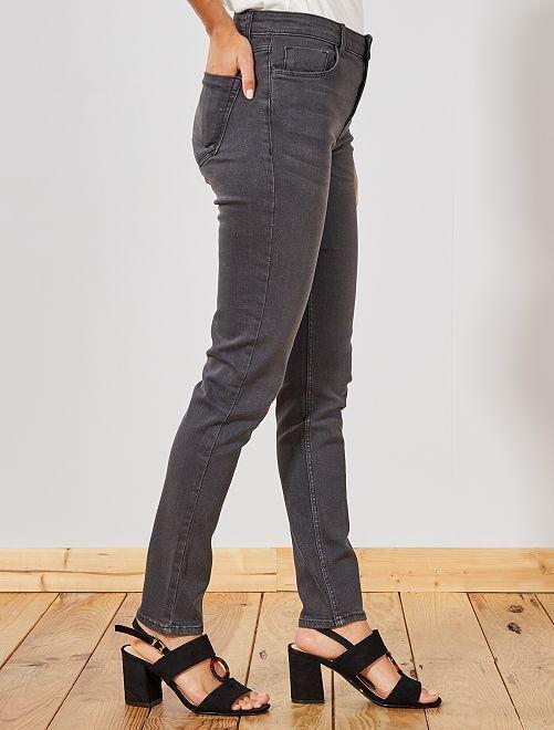 6bfb82f49d90 Jeans Alta 15 Molto Us 00€ Lunghezza Slim Vita Kiabi 30 Donna BWodCrxe