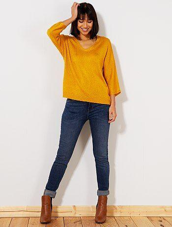 Jeans slim vita molto alta - Lunghezza US32                                                         RINCE Donna