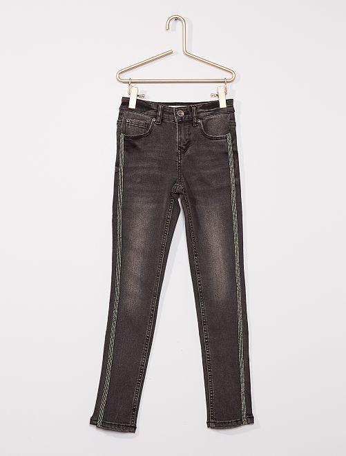 Jeans super skinny Bambino di corporatura esile                             GRIGIO