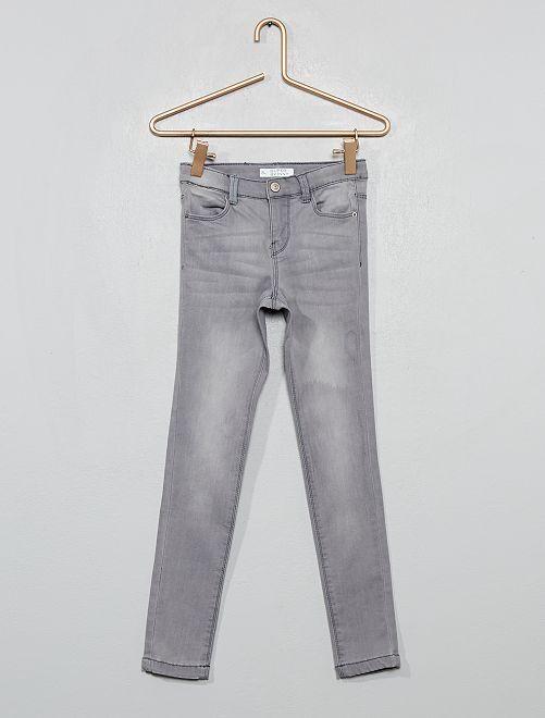 Jeans super skinny                                                     GRIGIO