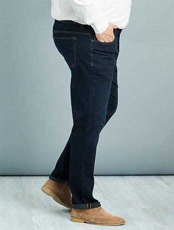 Taglie forti Uomo - Jeans taglio aderente Lunghezza US 38 - Kiabi