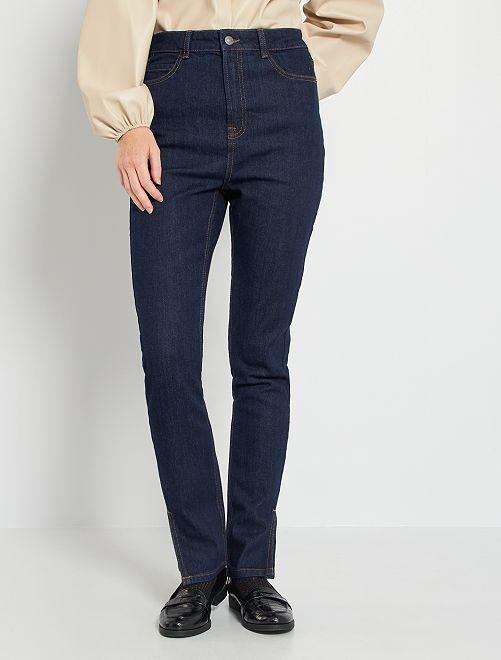 Jeans taglio aderente/slim fit 'eco-sostenibile'                             BLU