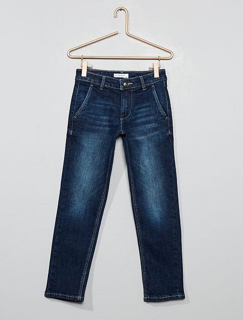Jeans taglio chino 'Eco-design'                                         BLU