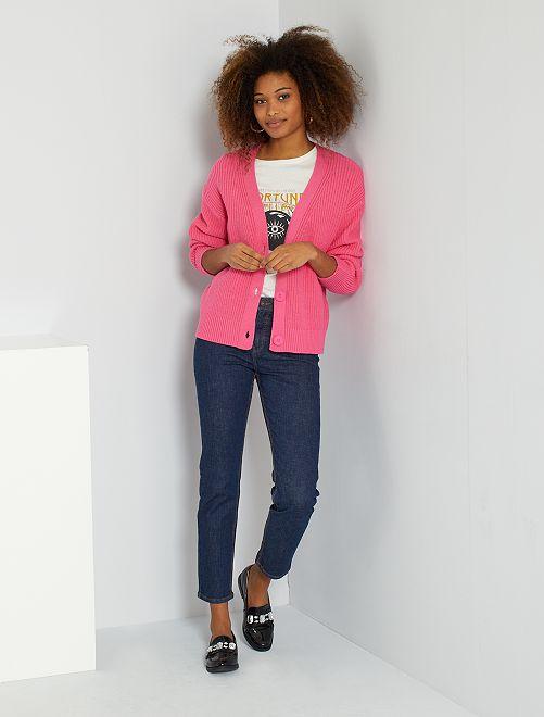 Jeans taglio regular lunghezza US28                                         BLU