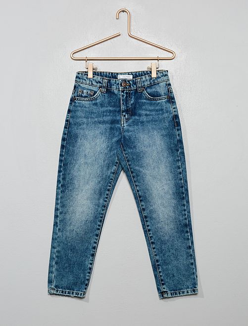Jeans taglio 'relaxed'                                         BLU