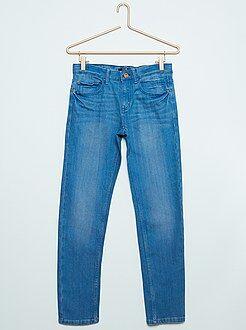 Jeans - Jeans taglio slim relax denim stretch