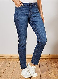 Donna dalla 38 alla 52 Jeans vita alta taglio regular stretch