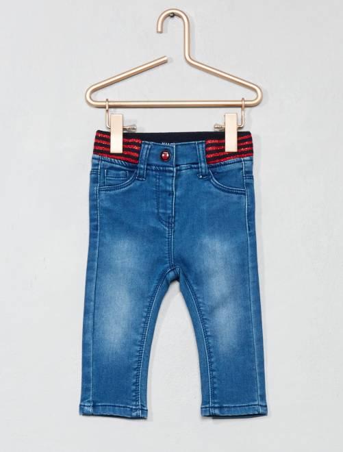 Jeans vita brillante                             BLU Neonata